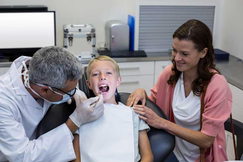 مراحل باندینگ دندان